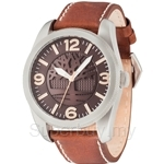 Timberland Bolton TBL.14770JS/02 Brown Leather Strap Brown Dial Men Watch