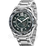 Bonia All Stainless Steel Crystal Bezel Ladies Watch - BNB796-3335
