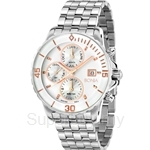 Bonia All Stainless Steel Multifunction Men Watch - BNB814-2312