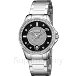 Bonia All Stainless Steel Black Dial Ladies Watch - BNB919-2337S