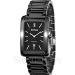 Bonia Square Dial Black Ceramic Men Watch - BNB926-1432