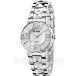 Bonia All Stainless Steel Mother of Pearl Dial Ladies Watch - BNB977-2353