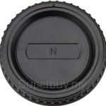 JJC Front/Rear Lens Cap for Nikon F Lens/Camera - L-R2