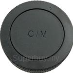 JJC Front/Rear Lens Cap for Canon EOS-M Lens/Camera - L-R15
