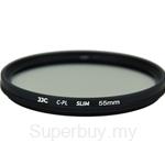 JJC F-CPL Ultra-Thin Circular Polarizer Filter (φ55mm) - F-CPL55