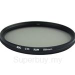 JJC F-CPL Ultra-Thin Circular Polarizer Filter (φ58mm) - F-CPL58