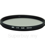 JJC F-CPL Ultra-Thin Circular Polarizer Filter (φ62mm) - F-CPL62
