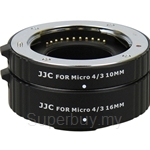 JJC Automatic Extension Tube for Olympus/Panasonic - AET-M43S