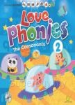 LOVE Phonics 2 The Consonants:認識子音(一書+2CD+1DVD+1海報+1手冊)