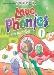 LOVE Phonics 1 The Alphabet:認識字母(一書+3CD+1DVD+1海報+1手冊)