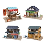 [Set of 4] GeNz Kids 3D Puzzle Japanese Architecture