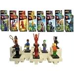 Dlittle Superhero Mini Figurine Set (Set of 8)