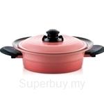 Roichen Smart Pot 24 Low Casserole Pink - RSC24LCP