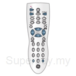 GE Universal Remote Control 3 Device Infrared Metallic Silver - 24912