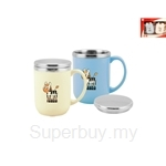 Zebra 2pcs 400ml Double Wall Mug (Prima II) - Z184X127X000