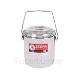 Zebra 16cm Auto Lock Loop Handle Pot with Deeper Inner Tray - Z151X626X000