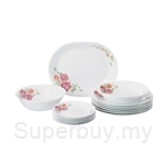 Corelle 16pcs Dinnerware Set Rosabelle - 16-ROS-MS
