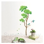 IR Tree Wall Deco Sticker - Relaxation (32cmx60cm)