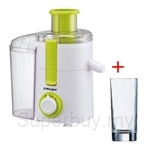 Morgan Juice Extractor + Luminarc Gobelet FH33 Islande 6pcs Glass - MJE-AA05W + 12832