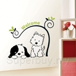 IR Animal Wall Deco sticker - Welcome (50cmx 70cm)
