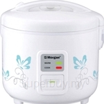 Morgan 1.0L Jar Rice Cooker White - MRC-2210J