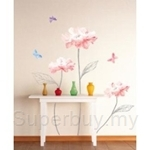 IR Flower & Plant Wall Deco Sticker- Colours of flower