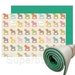 Parklon Hi Living Plus Mat (One Side Printing) - Wooden Pony (200x150x1.5cm)