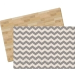 Parklon PVC Design Cushion Mat Urban ZigZag