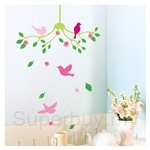 IR Animal Wall Deco Sticker - Shandelier (32cmx60cm)