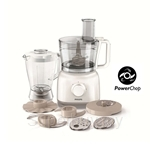 Philips Daily Collection Food Processor with Blender (650W, 2.1L Bowl) - HR7628/01