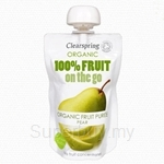 Clearspring Organic Fruit On The Go Pear 120g (Pouch) - 22061