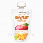 Clearspring Organic Fruit On The Go Apple & Mango 120g (Pouch) - 22062