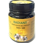 Radiant Raw Manuka Honey MG 100 Natural 340g - 05016