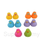 Ks Kids Colourful Bathing Duck (10pcs) KA10554