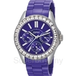 Esprit Dolce Vita Plastic Purple Ladies Watch - ES105172004