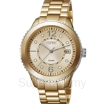 Esprit Marin Aluminium Gold Ladies Watch - ES105812005