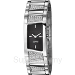 Esprit Fancy Deco Crystal Black Ladies Watch - ES106442002