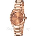 Esprit Crystal Cut Rose Gold Ladies Watch - ES106552006
