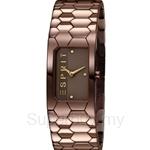 Esprit Houston Hexa Brown Ladies Watch - ES107882004