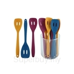 Fackelmann Silicone Slotted Turner In Tube (Assorted Colours) - 5900681