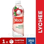YEO'S 350ml Lychee PET Bottle Drink (24 Bottles)