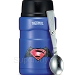 Thermos 710ml SK Batman V. Superman Series Stainless Steel King Food Jar with Spoon
