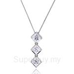 Kelvin Gems Premium Multiway Secret Trilogy Pendant Necklace