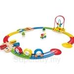 Hape Sights & Sounds Railway Set - HP3815