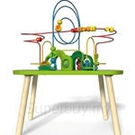Hape Jungle Play & Train Activity Table - HP3801