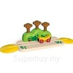 Hape Monkey Pop-Up Track - HP3809