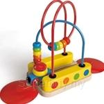 Hape Bead Maze Rainbow Track - HP3811