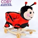Coby Play Rocking Animal - Ladybug