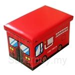 Coby Box Fire Track Multipurpose Storage Box
