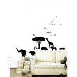 IR Flower & Plant Wall Deco Sticker- Africa (50com x 70cm)